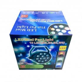 Illumsolid Proyektor LED Lampu Disco Stage Konser RGBW DMX - KD-12 - Multi-Color - 9