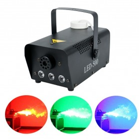 KYAAO Sistem Fogger Panggung Stage Machine Ejector with RGB LED - KY-LED500 - Black - 6