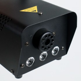 KYAAO Sistem Fogger Panggung Stage Machine Ejector with RGB LED - KY-LED500 - Black - 7