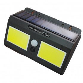 DUOGU Lampu Solar Sensor Gerak Outdoor Weatherproof 96 LED COB - L96 - Black - 2