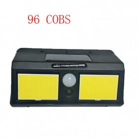 DUOGU Lampu Solar Sensor Gerak Outdoor Weatherproof 96 LED COB - L96 - Black - 3