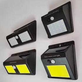 DUOGU Lampu Solar Sensor Gerak Outdoor Weatherproof 96 LED COB - L96 - Black - 4