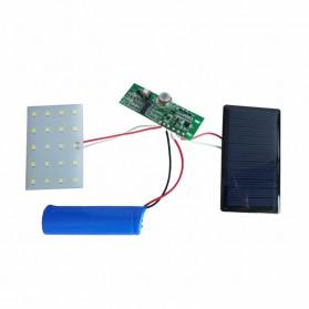 DUOGU Lampu Solar Sensor Gerak Outdoor Weatherproof 96 LED COB - L96 - Black - 11