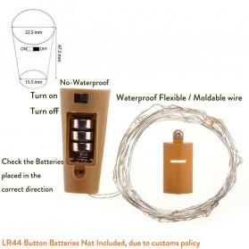 ERANPO Lampu Hias Dekorasi 20 LED 2 Meter Warm White - RP0494 - Warm White - 7