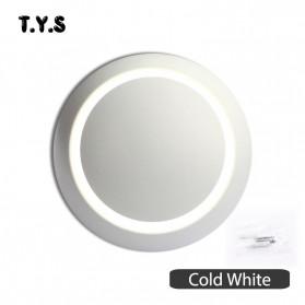 TYS Lampu Hias Dinding LED Minimalis Lunar Eclipse 360 Degree 3000K - W47 - White - 7