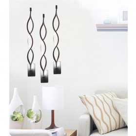 ShowOne Lampu Hias Dinding LED Modern Minimalist 16W - CSM416 - Black - 7