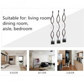 ShowOne Lampu Hias Dinding LED Modern Minimalist 16W - CSM416 - Black - 9