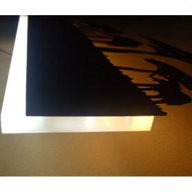 Blue Time Lampu Hias Dinding LED Siluet Pemandangan 12W - WLA8300 - Black - 10