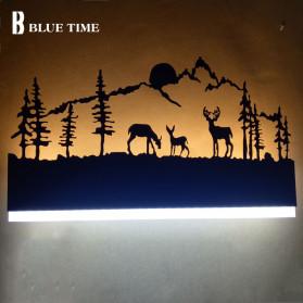 Blue Time Lampu Hias Dinding LED Siluet Pemandangan 12W - WLA8300 - Black - 2
