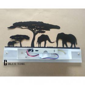 Blue Time Lampu Hias Dinding LED Siluet Pemandangan 12W - WLA8300 - Black - 8