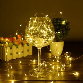ANBLUB Lampu Hias Dekorasi 20 LED 2 Meter - 2G22 - Warm White - 4