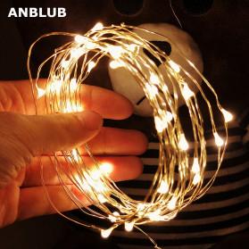ANBLUB Lampu Hias Dekorasi 20 LED 2 Meter - 2G22 - Warm White - 6