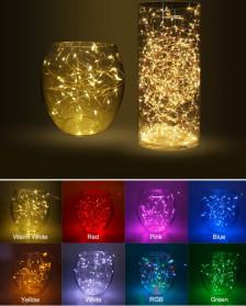 ANBLUB Lampu Hias Dekorasi 20 LED 2 Meter - 2G22 - Warm White - 8