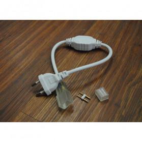 Kabel Modul untuk Lampu LED Strip 2835 220V EU Plug - White