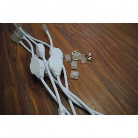 Kabel Modul untuk Lampu LED Strip 2835 220V EU Plug - White - 5