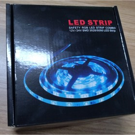 GOOLOOK Lampu LED Strip Disco Music Mode RGB 10M with Controller + Remote - GL3 - White - 10