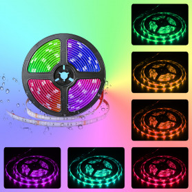 GOOLOOK Lampu LED Strip RGB 10M with Controller + IR Remote - GL2 - White - 7
