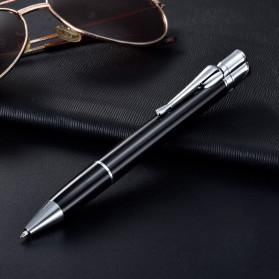 OLOEY 2 in 1 Korek Api Gas Lighter Desain Pulpen - L1041 - Black - 2