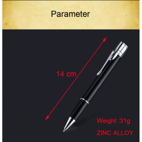 OLOEY 2 in 1 Korek Api Gas Lighter Desain Pulpen - L1041 - Black - 6