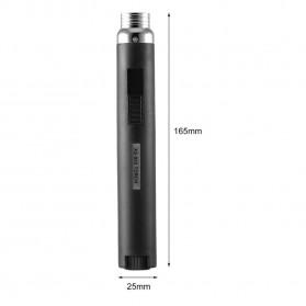 OLOEY Korek Api Gas Lighter Stick Jet Torch - KV1100 - Metallic Black - 7