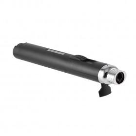 OLOEY Korek Api Gas Lighter Stick Jet Torch - KV1100 - Metallic Black - 8