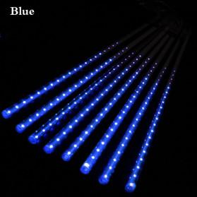 Kingoffer Lampu Hias Gantung Model Meteor Rain 8 Tubes 30 cm - BGL01 - Blue