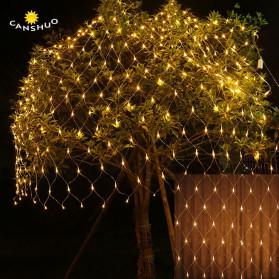 Laimanice Lampu Hias Dekorasi Taman Model Jaring LED 3 x 2 Meter - LM-01 - Warm White - 1