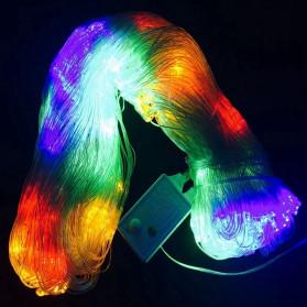Laimanice Lampu Hias Dekorasi Taman Model Jaring LED 3 x 2 Meter - LM-01 - Warm White - 2