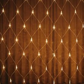 Laimanice Lampu Hias Dekorasi Taman Model Jaring LED 3 x 2 Meter - LM-01 - Warm White - 3