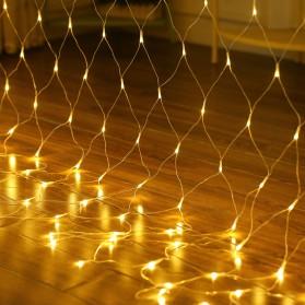 Laimanice Lampu Hias Dekorasi Taman Model Jaring LED 3 x 2 Meter - LM-01 - Warm White - 4