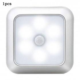 KINGOFFER Lampu LED Motion Sensor Deteksi Cahaya Battery Operated - GY10 - White