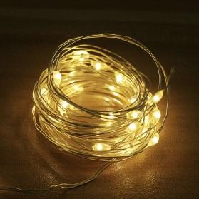 ANBLUB Lampu LED USB Dekorasi Wedding Fairy Light 3x3Meter 300 LED with Remote Control - ANB300 - Warm White - 2