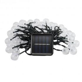 YUSHILED Lampu Hias Dekorasi 100 LED 12 Meter with Solar Panel - M074 - Mix Color - 7