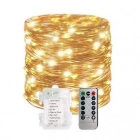 YUSHILED Lampu Hias Dekorasi 200 LED 20 Meter with Remote Control - M082 - Multi-Color