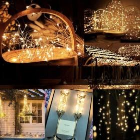 YUSHILED Lampu Hias Dekorasi 200 LED 20 Meter with Remote Control - M082 - Multi-Color - 5