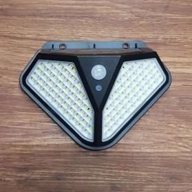 Mayitr Lampu Solar Panel Sensor Gerak PIR Outdoor Waterproof 102 LED - LF-1728A - Black - 2