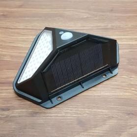 Mayitr Lampu Solar Panel Sensor Gerak PIR Outdoor Waterproof 102 LED - LF-1728A - Black - 4
