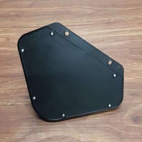Mayitr Lampu Solar Panel Sensor Gerak PIR Outdoor Waterproof 102 LED - LF-1728A - Black - 5