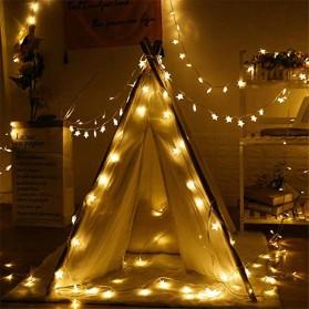 ANBLUB Lampu Hias Dekorasi Star Light String Twinkle 20 LED 3 Meter - G23 - Warm White - 2