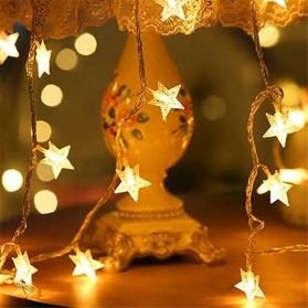 ANBLUB Lampu Hias Dekorasi Star Light String Twinkle 20 LED 3 Meter - G23 - Warm White - 3