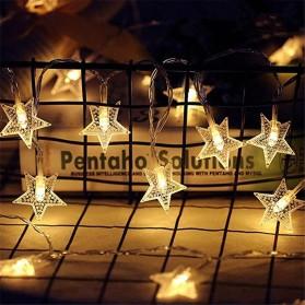 ANBLUB Lampu Hias Dekorasi Star Light String Twinkle 20 LED 3 Meter - G23 - Warm White - 4