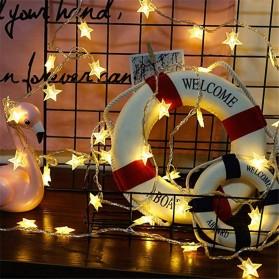 ANBLUB Lampu Hias Dekorasi Star Light String Twinkle 20 LED 3 Meter - G23 - Warm White - 5