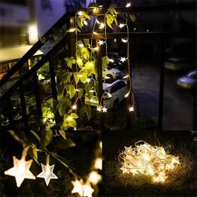 ANBLUB Lampu Hias Dekorasi Star Light String Twinkle 20 LED 3 Meter - G23 - Warm White - 7