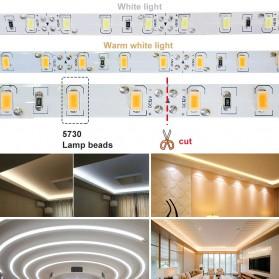 LPILY Lampu LED Strip SMD 5630 12V 5 Meter - SMD57 - Warm White - 4
