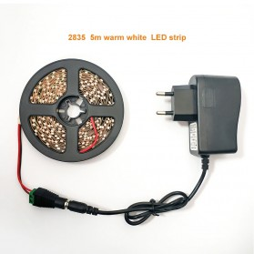 LPILY Lampu LED Strip SMD 5630 12V 5 Meter - SMD57 - Warm White - 6