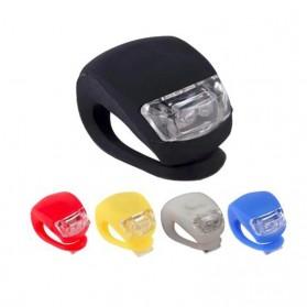 ZACRO Frog Light Lampu Sepeda LED Slicon Waterproof 2 PCS - BL008-9 - Black - 2