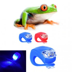 ZACRO Frog Light Lampu Sepeda LED Slicon Waterproof 2 PCS - BL008-9 - Black - 3
