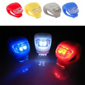 ZACRO Frog Light Lampu Sepeda LED Slicon Waterproof 2 PCS - BL008-9 - Black - 5