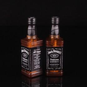 OLOEY Korek Api Gas Lighter Desain Botol Whiskey Jack Daniels - L1170 - Black - 3