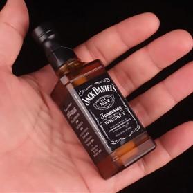 OLOEY Korek Api Gas Lighter Desain Botol Whiskey Jack Daniels - L1170 - Black - 5